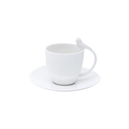 110237 Jogo 06 xicaras café birds