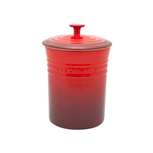 39186 Porta mantimento médio vermelho Le Creuset
