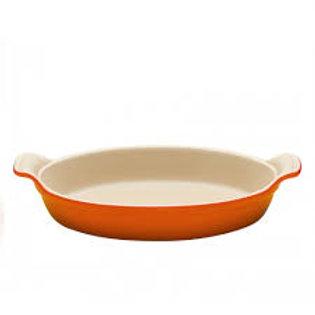 106678 Travessa oval 24cm laranja Le Creuset ferro