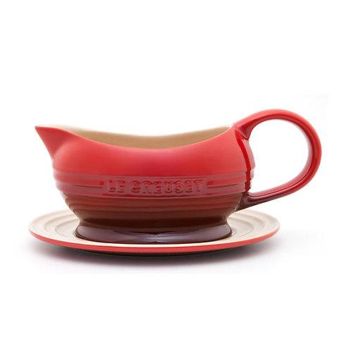 48600 Molheira com píres Le Creuset vermelha