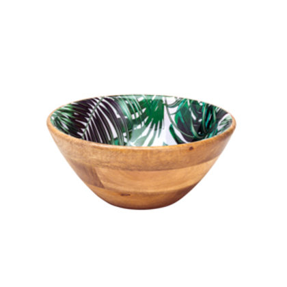 120953 Bowl madeira leafage