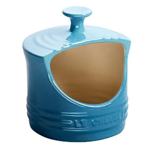 111324 - Porta sal azul caribe Le Creuset