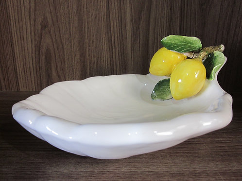 107669 Petisqueira Cerâmica Folha Limão