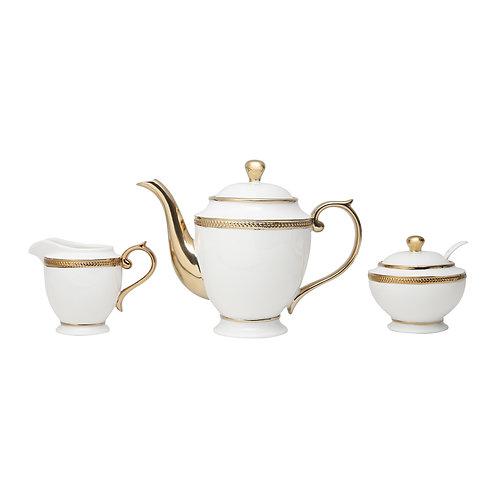 113482 - Jg 3 peças para chá