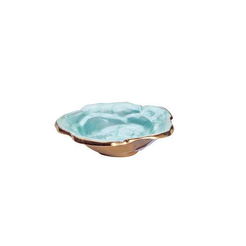 120760 Porta objetos flor azul