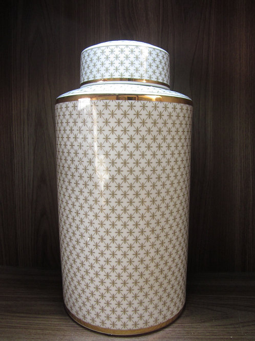 89216 Vaso friso dourado grande