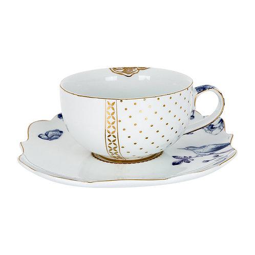 106322 Xícara de chá com pires
