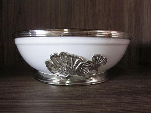 105539 Bowl cerâmica com metal 25cm