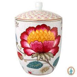 105435 Pote branco Floral Fantasy Pip Studio