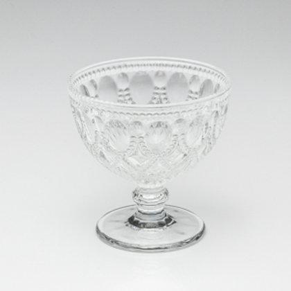 100826 Jg 4 taças diamond de vidro transparente