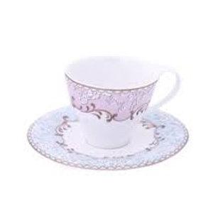 104390 Jogo 06 xicaras de chá Christine