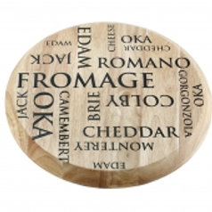 109183 Tábua para queijo 44,5x4,5cm