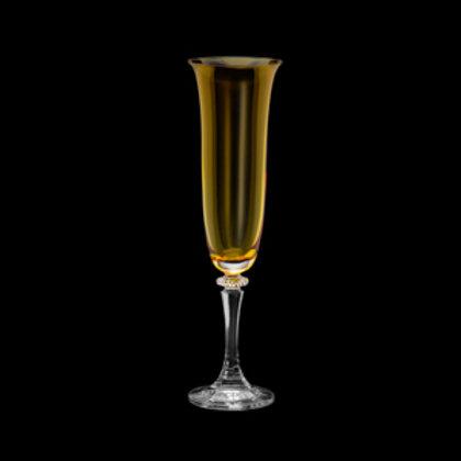 118563 Jogo 06 taças champanhe Kleopatra topazio
