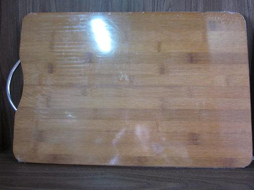 97738 Tábua bambu com alça 45x30x1,8cm