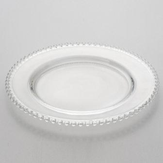 36900 Sousplat cristal Pearls 31,5cm