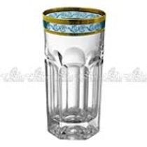 106359 Jg 6 copos long drink dourado/azul