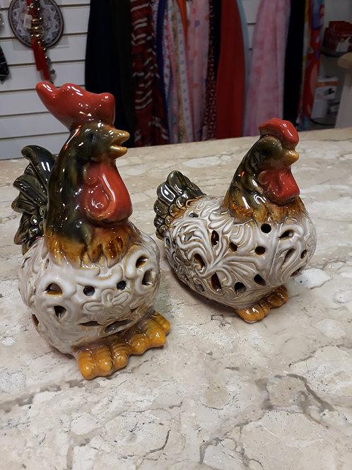 112719 Jogo galinha ceramica