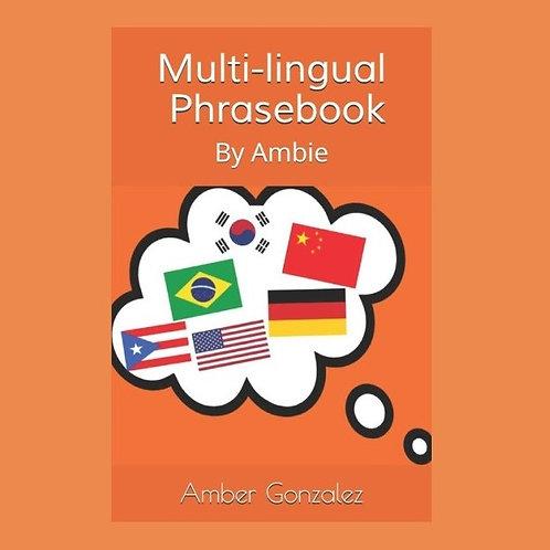 Multi-Lingual Phrasebook: By Ambie (Ebook)