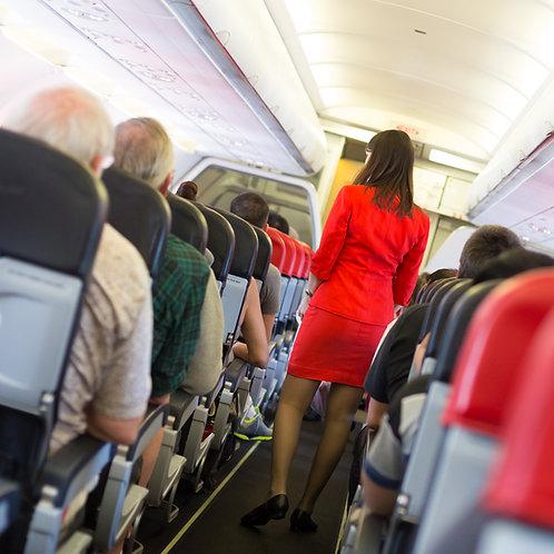 Flight attendant Spanish Script pt 1