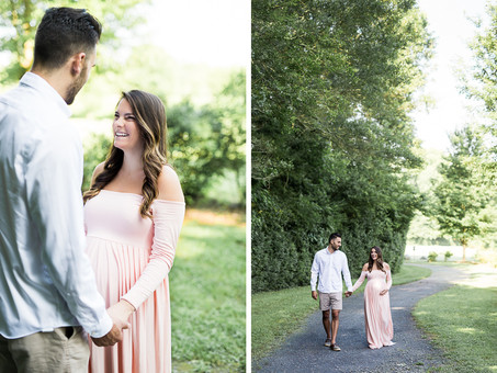 Highlights: Meg & Ryan's Maternity Session at Garrard Landing Park