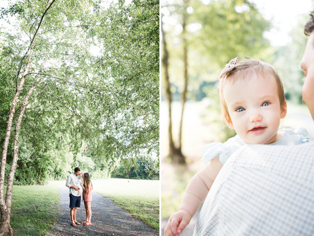 Spivey Family Session in Roswell, GA
