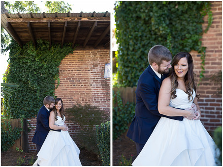 Highlights: Meg & Matt's Wedding at The Cotton Warehouse in Monroe, GA