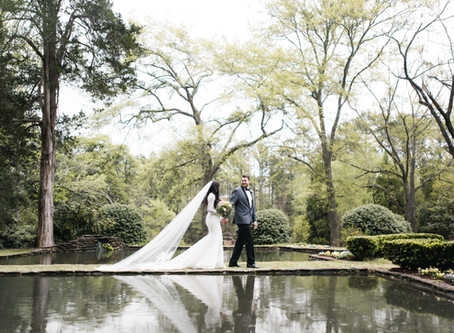 Carmen & Cory's Wedding at Dunaway Gardens
