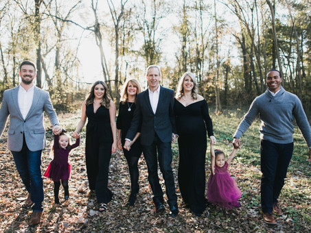 The Briggs Family at Whittier Mill Park