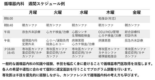 専攻医循環器内科スケジュール図.JPG