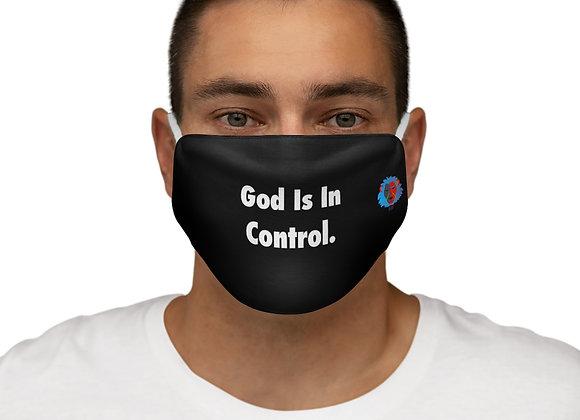 Snug-Fit Polyester God Control Face Mask
