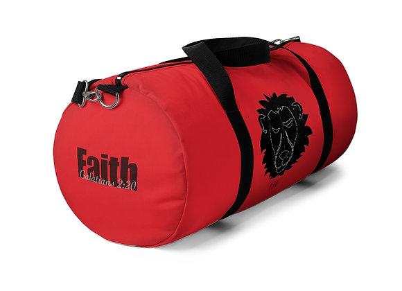 Red Duffel Bag