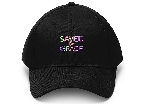 Saved Unisex Twill Hat (10 colors)
