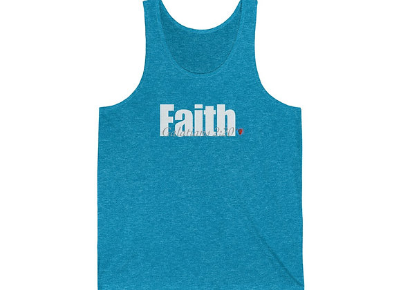Faith Unisex Jersey Tank (5 Colors)