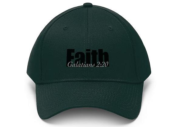 Faith Unisex Twill Hat (10 colors)
