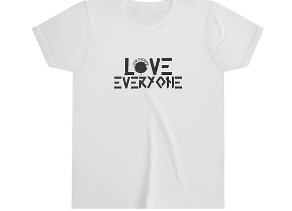 Youth LOVE EVERYONE Short Sleeve Tee