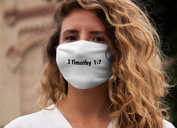 Snug-Fit Polyester Timothy Face Mask