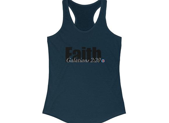 Faith Women's Ideal Racerback Tank (5 colors)