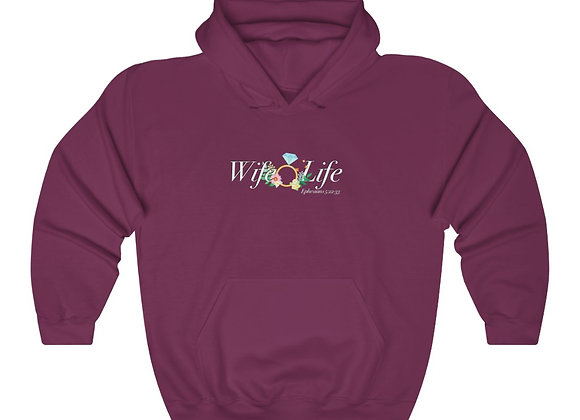 Unisex Heavy Blend Wife Life Sweatshirt