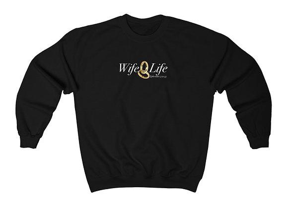 Unisex Wife Life Crewneck Sweatshirt