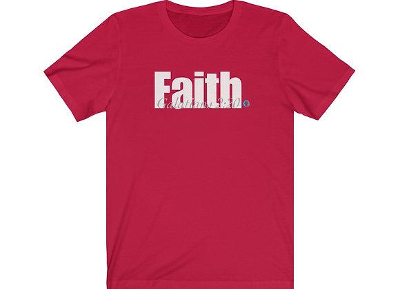 Faith Unisex Jersey Tee (4 colors)