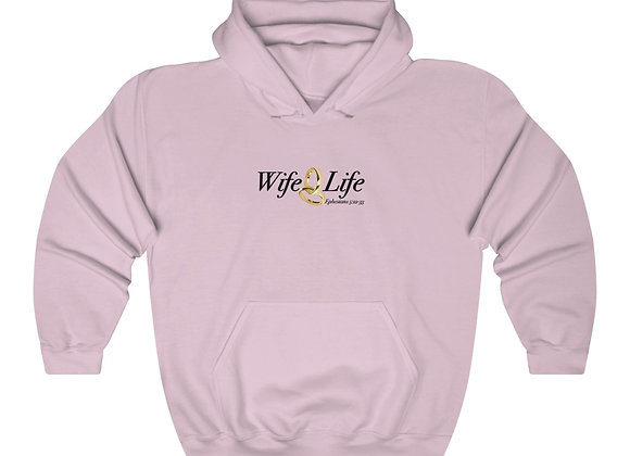 Unisex Heavy Blend Wife Life Sweatshirt