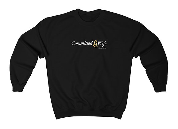 Unisex Committed Wife Crewneck Sweatshirt
