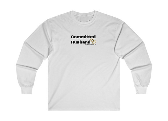 Long Sleeve Committed Husband Tee