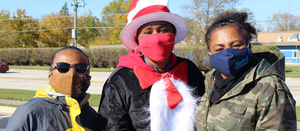 FOUNDATION HANDS OUT MASKS AT TRAIL OF TREATS