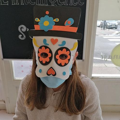 Masque halloween mexicain