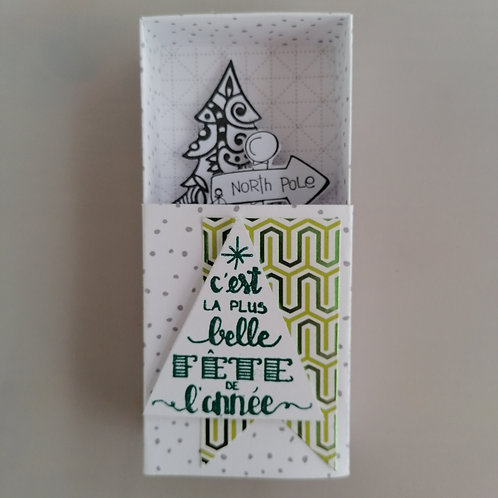 Boîte à message Noël