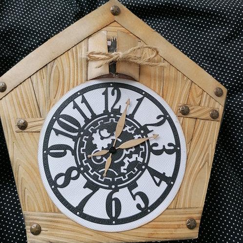 Mini album Cuckoo Clock Book
