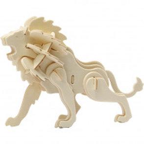 PUZZLE 3D LION