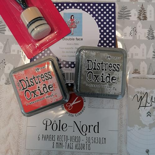 idée cadeau scrapbooking Pole Nord