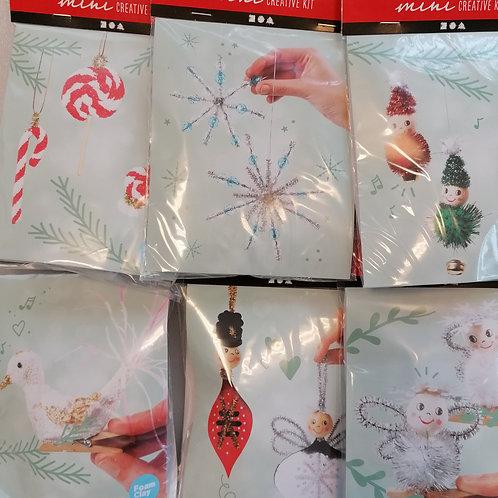 Set de 6 mini kits créatifs Noel